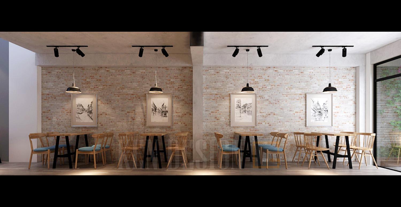 Thiết kế quán trà sữa Xing Cha