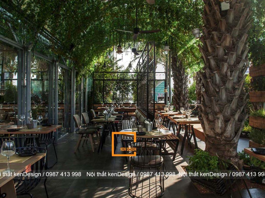 trang trí nhà hàng
