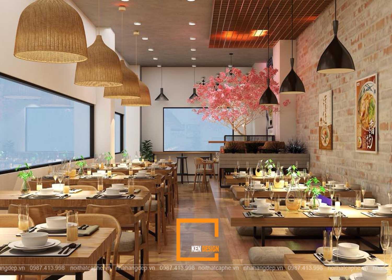 trang trí thiết kế nhà hàng