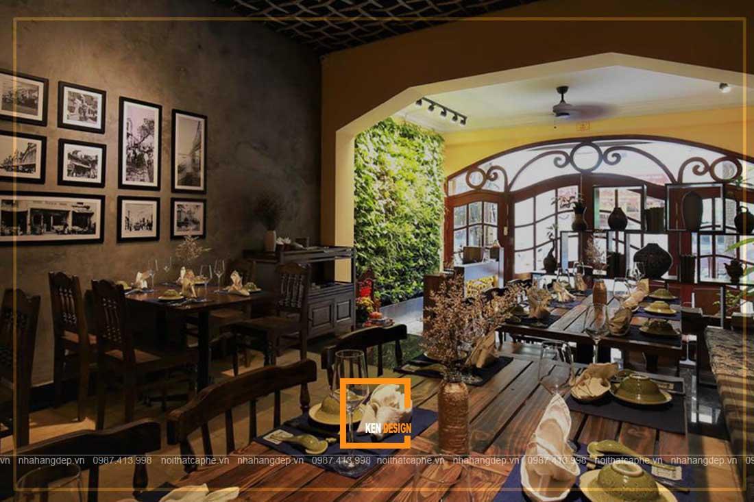 tư vấn thiết kế nhà hàng truyền thống