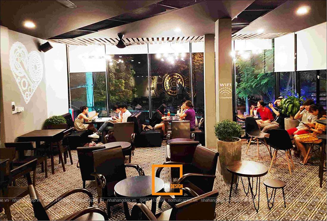 thiết kế quán cafe tại Huế