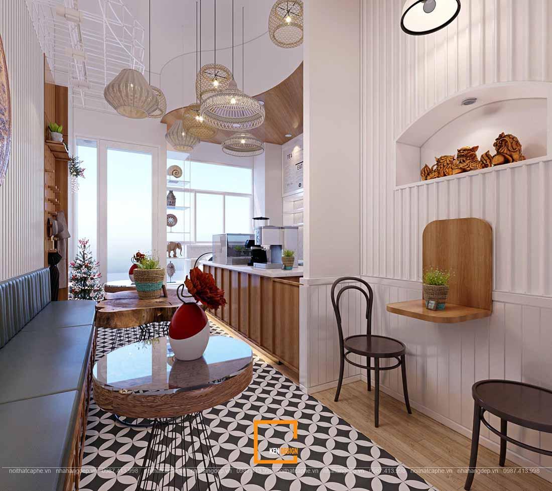 Tư vấn thiết kế quán trà sữa tại Hà Nội giúp cạnh tranh hiệu quả