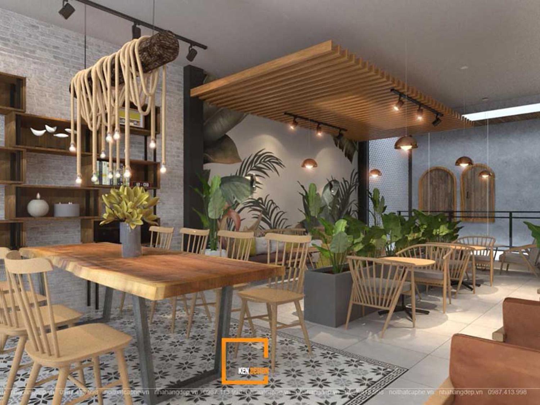 Tuyệt chiêu thiết kế quán cafe tại Hải Phòng đẹp ấn tượng