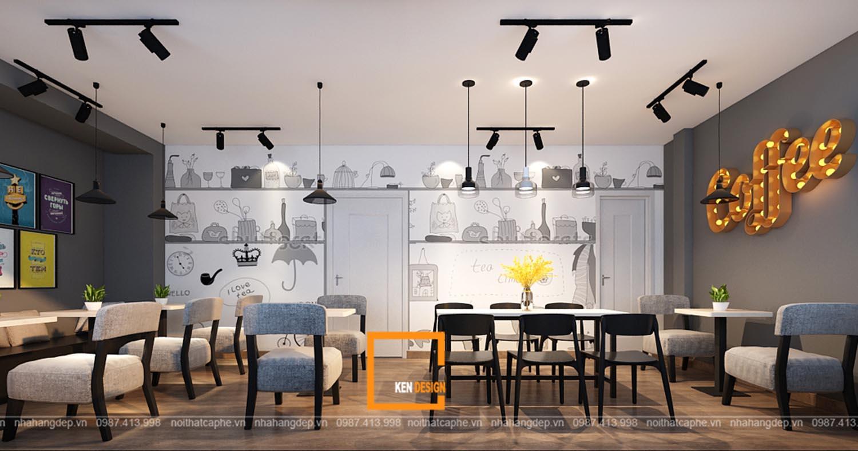 Thiết kế quán cafe tại Hải Phòng
