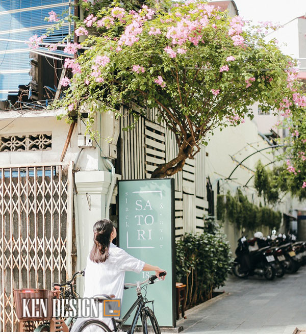 Tôi thấy nắng vàng trong quán cafe Satori slack & slavor