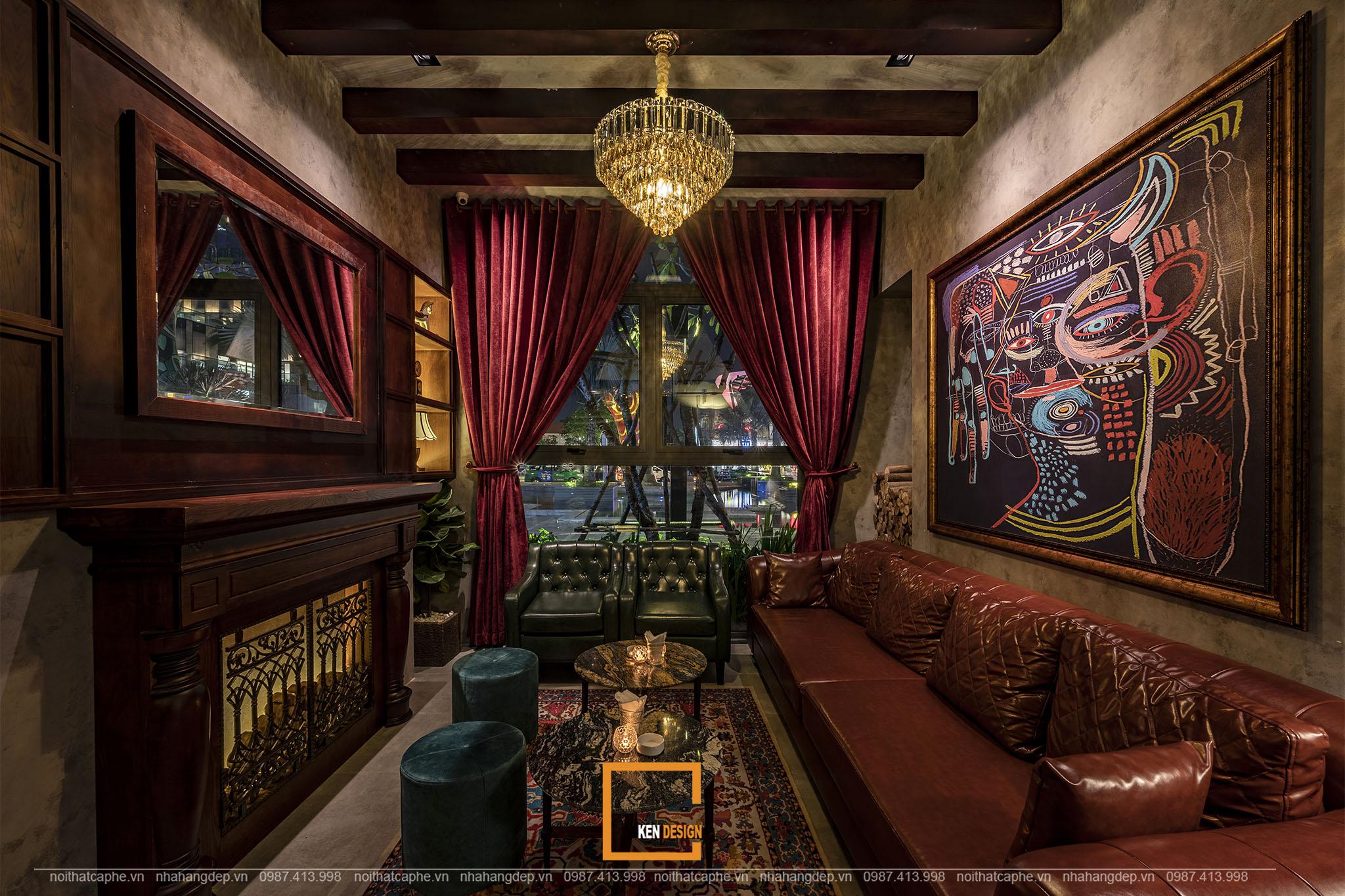 Mẫu thiết kế Nevermind Bar Lounge Sài Gòn