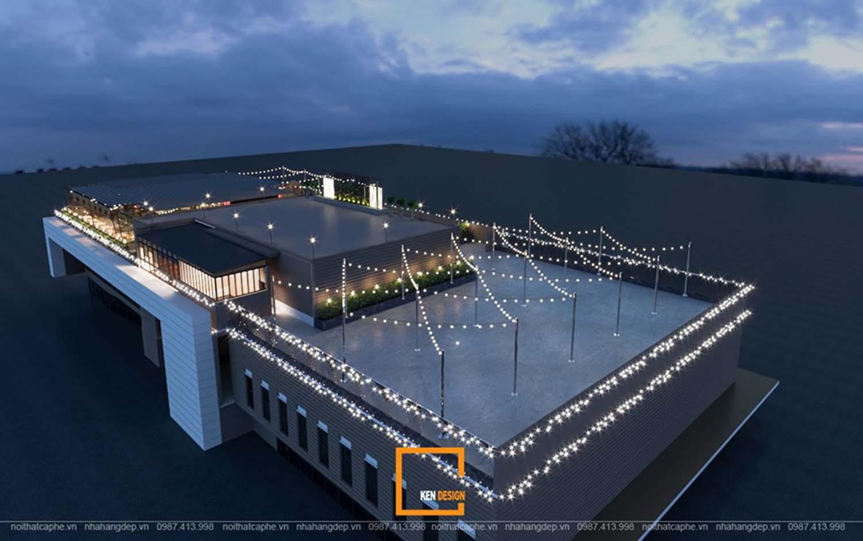 Thiết kế nhà hàng trên cao skyview