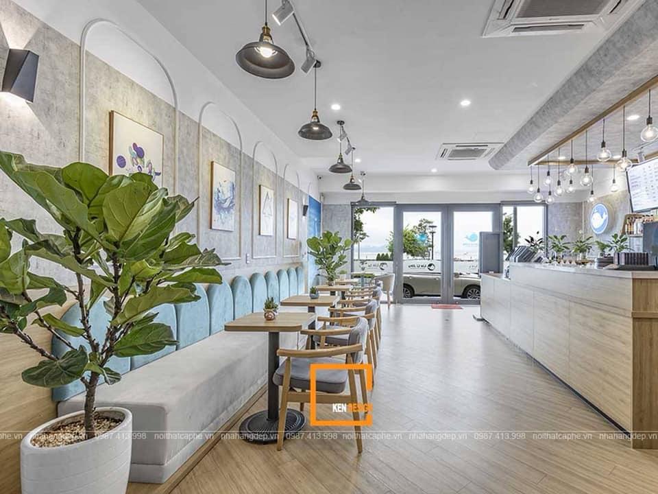 Báo giá thiết kế thi công quán trà sữa Liu Li Jing tại Quảng Ninh