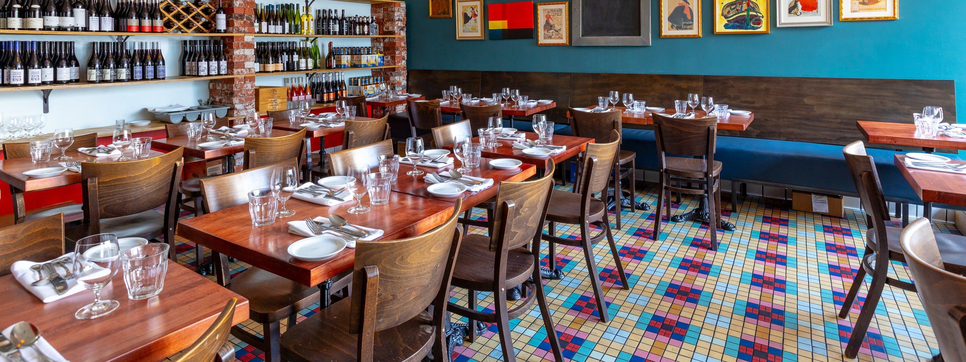 thiết kế nhà hàng bistro đẹp