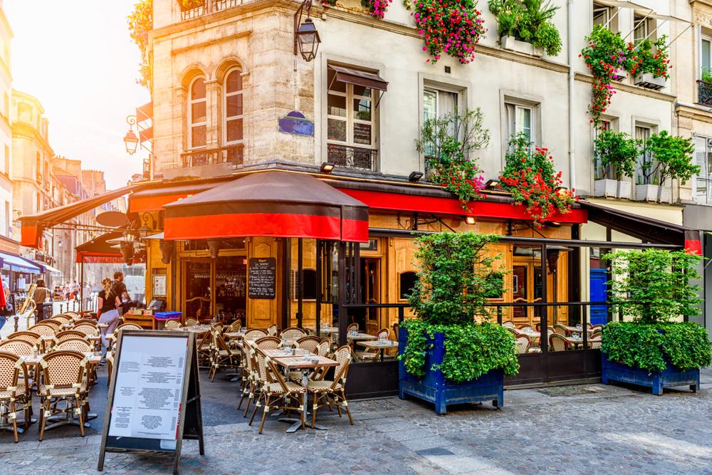 nhà hàng bistro tại nước Pháp