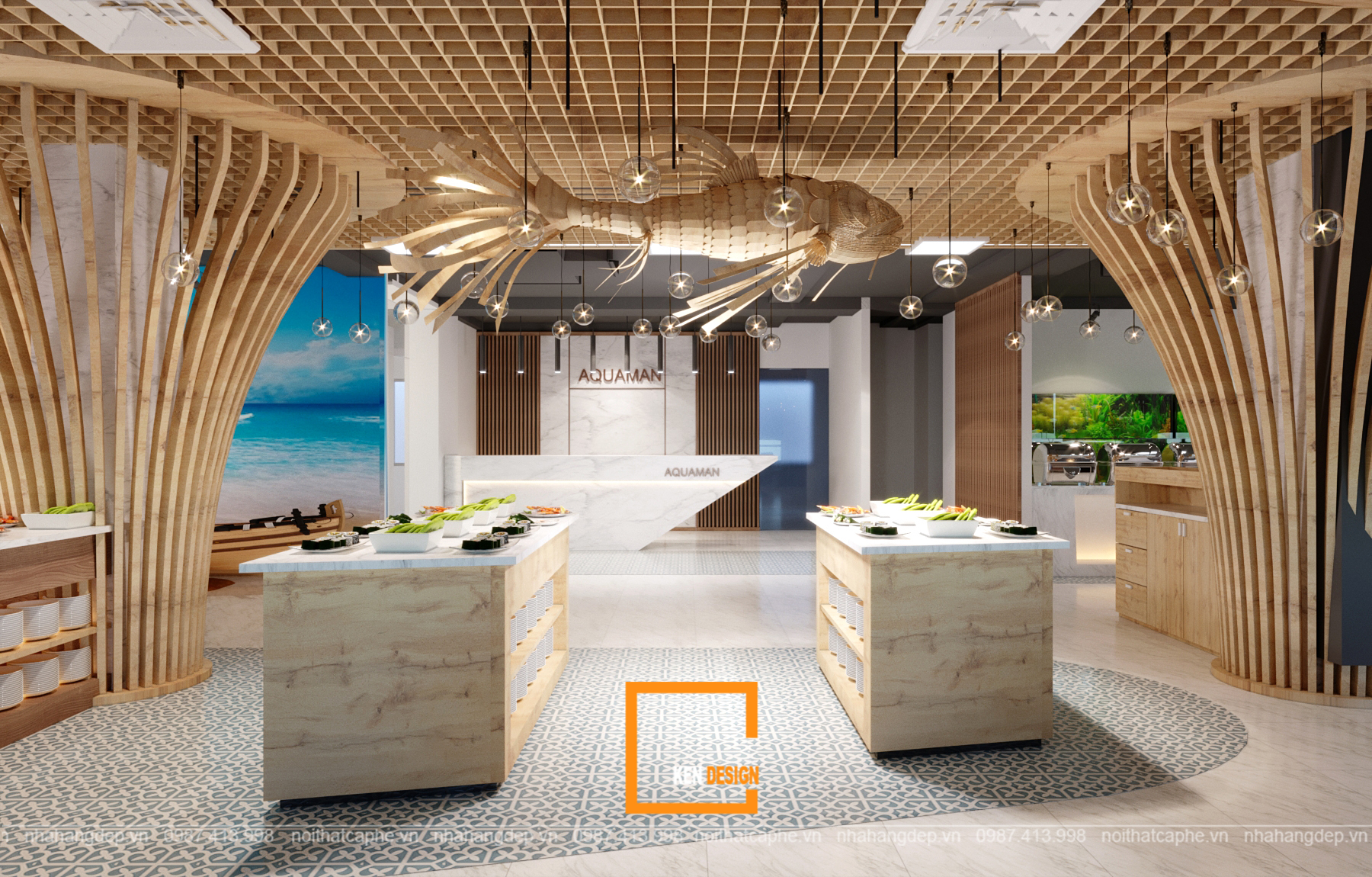 thiết kế nhà hàngthiết kế nhà hàng