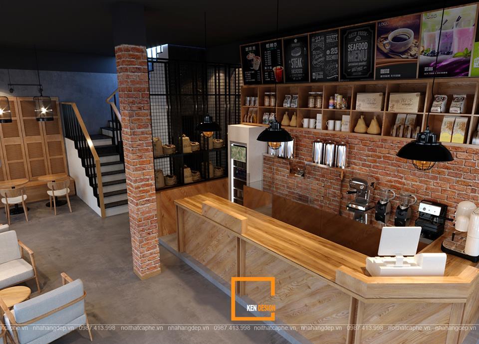 hi phí thiết kế quán café