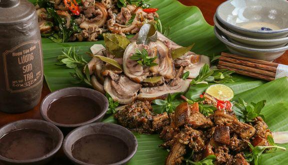 Món ăn nhà hàng Lương Sơn Quán