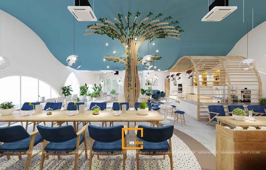 Thiết kế quán cafe EE Earth & Coffe Hà Nội