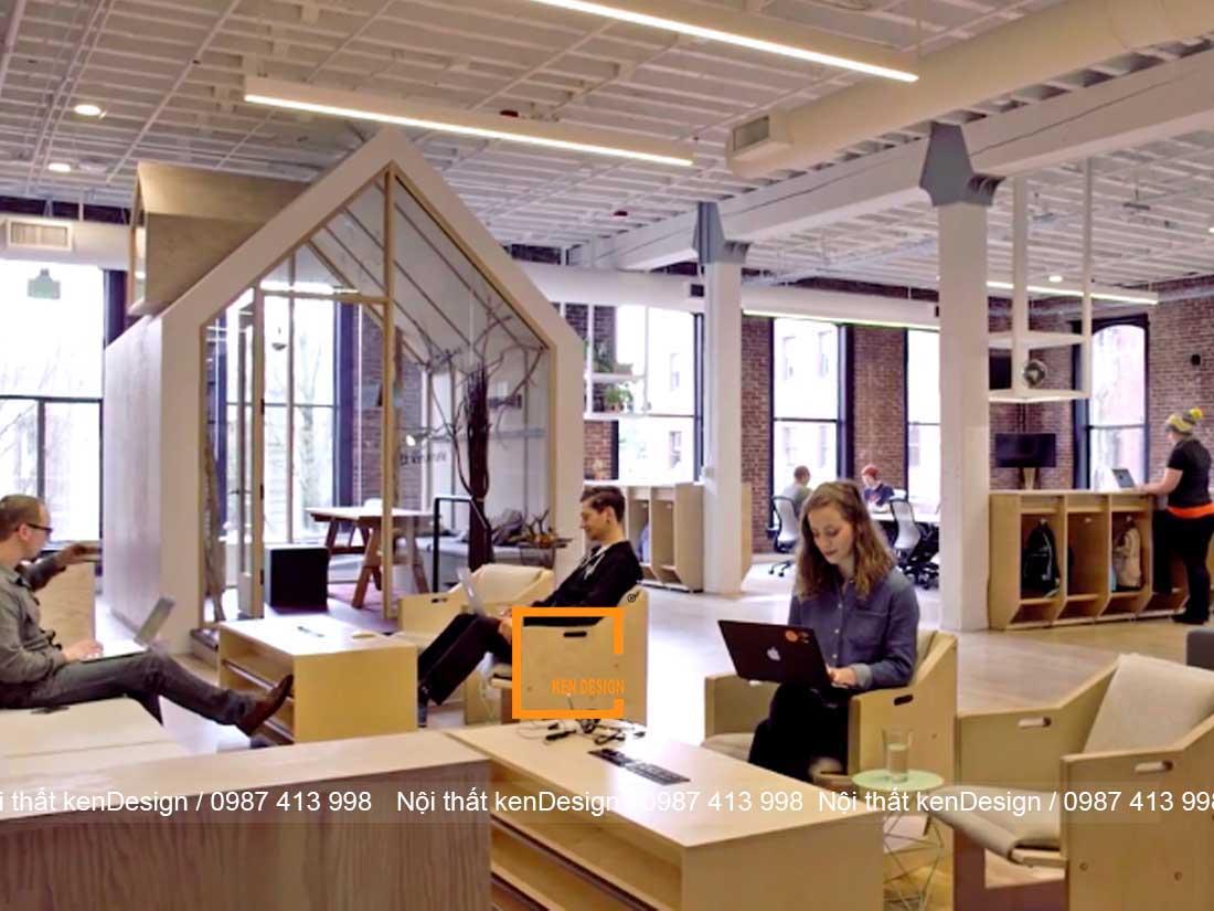 thiết kế quán cafe văn phòng