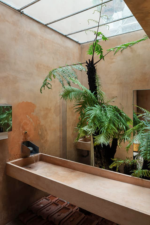 Mẫu thiết kế quán cafe Tropical Forest cơ sở 3