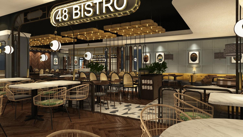 nhà hàng bistro đẹp 48 Bistro