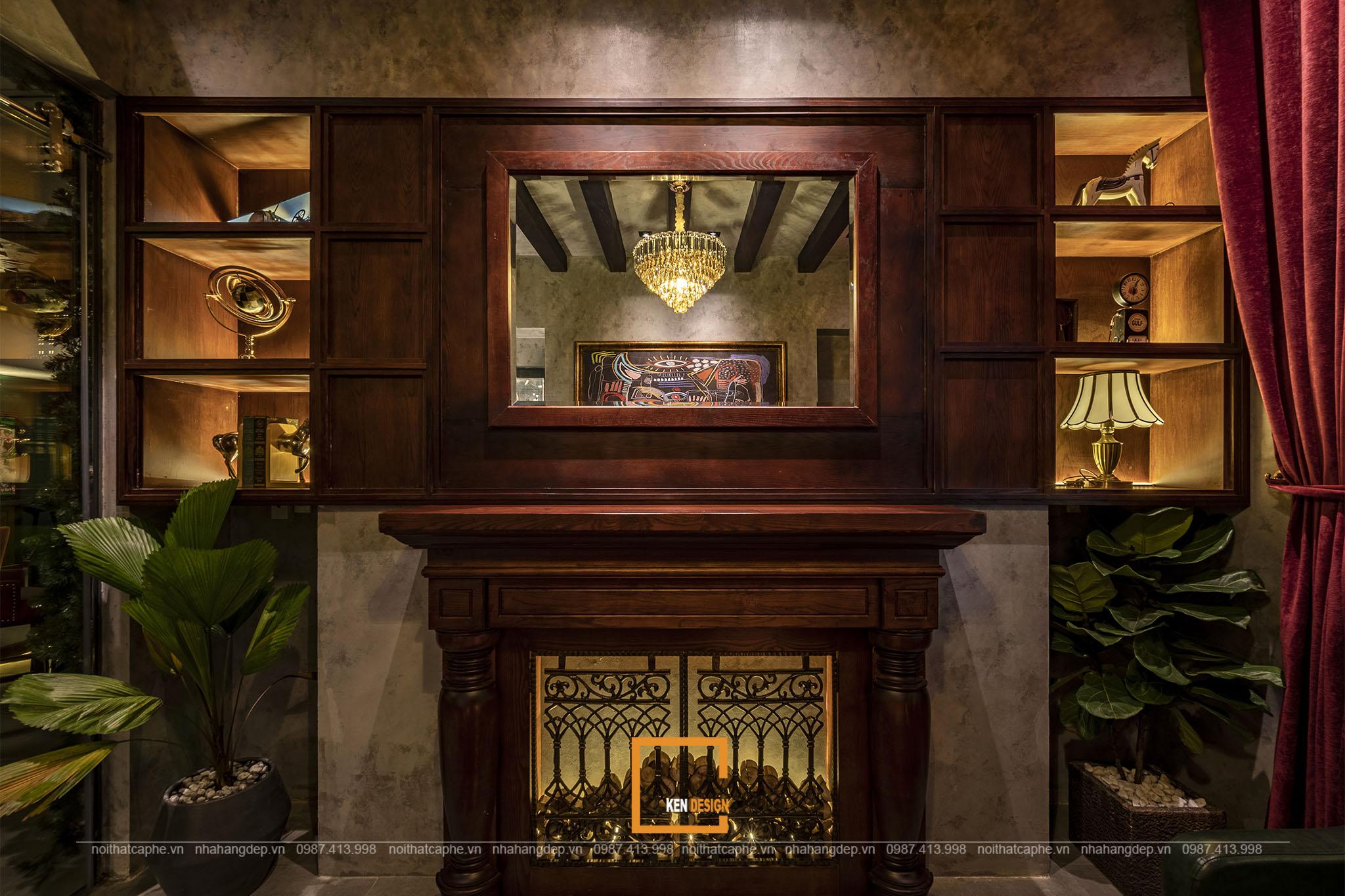 Nội thất Nevermind Bar Lounge làm từ gỗ tự nhiên