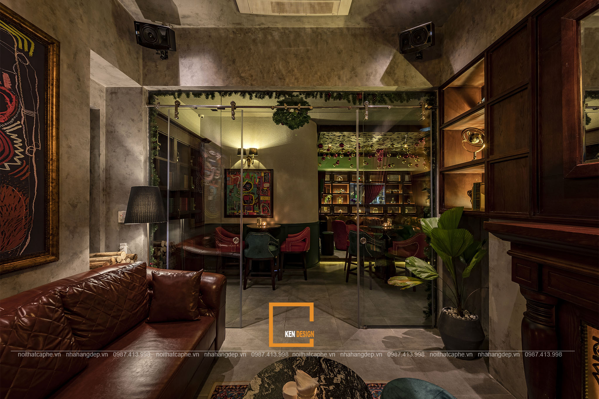 Thiết kế nội thất bar lounge Nevermind
