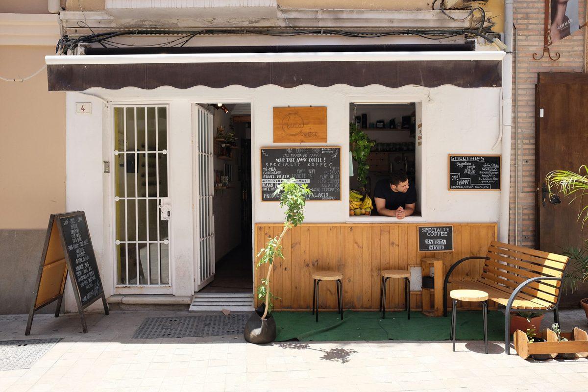 thiết kế quán cafe kiểu Hàn Quốc ấn tượng