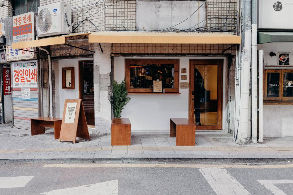 Thiết kế quán cafe phong cách Hàn Quốc