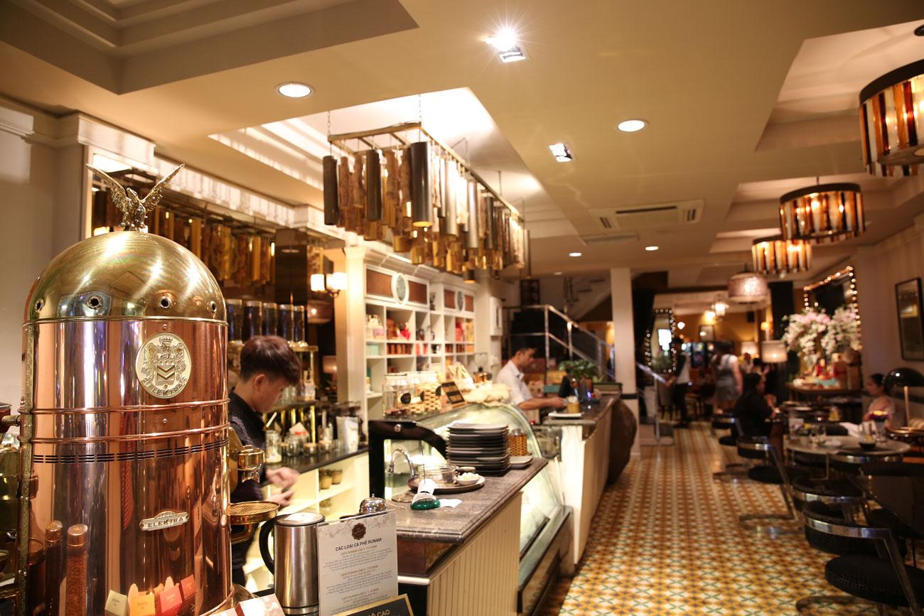 nhà hàng bistro đẹp Runam Bistro