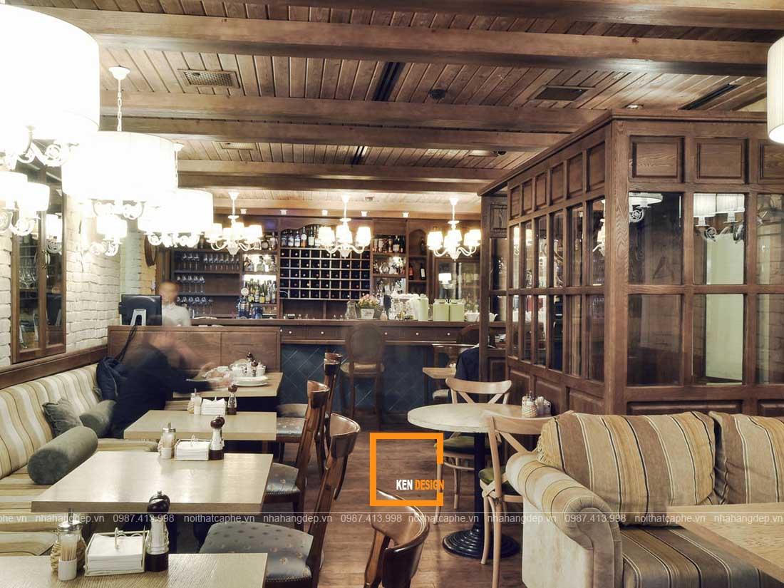 đặc điểm quán cafe rustic