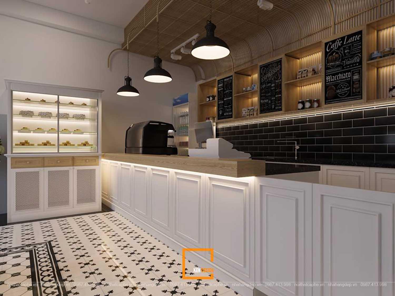 Thiết kế quán Anthony Cafe