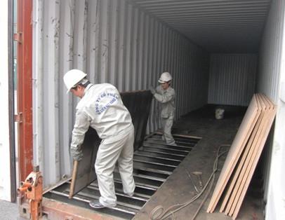 thiết kế container lấy mẫu lưu động chống covid 19