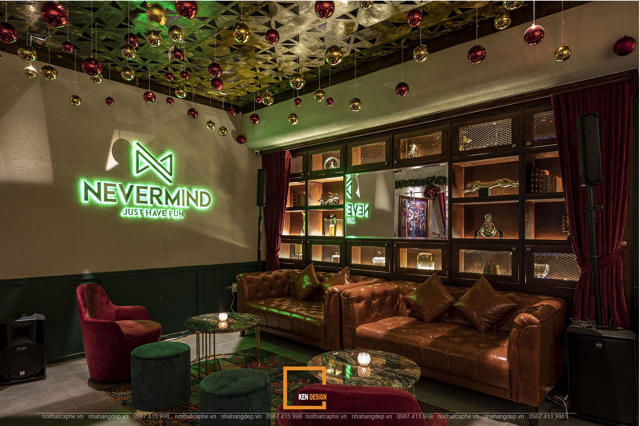 thi công Nevermind Lounge
