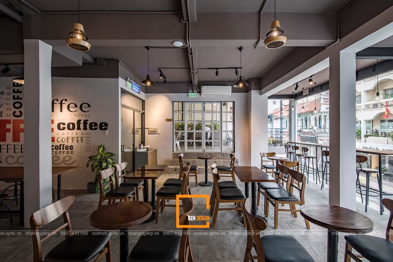 thi công quán cà phê
