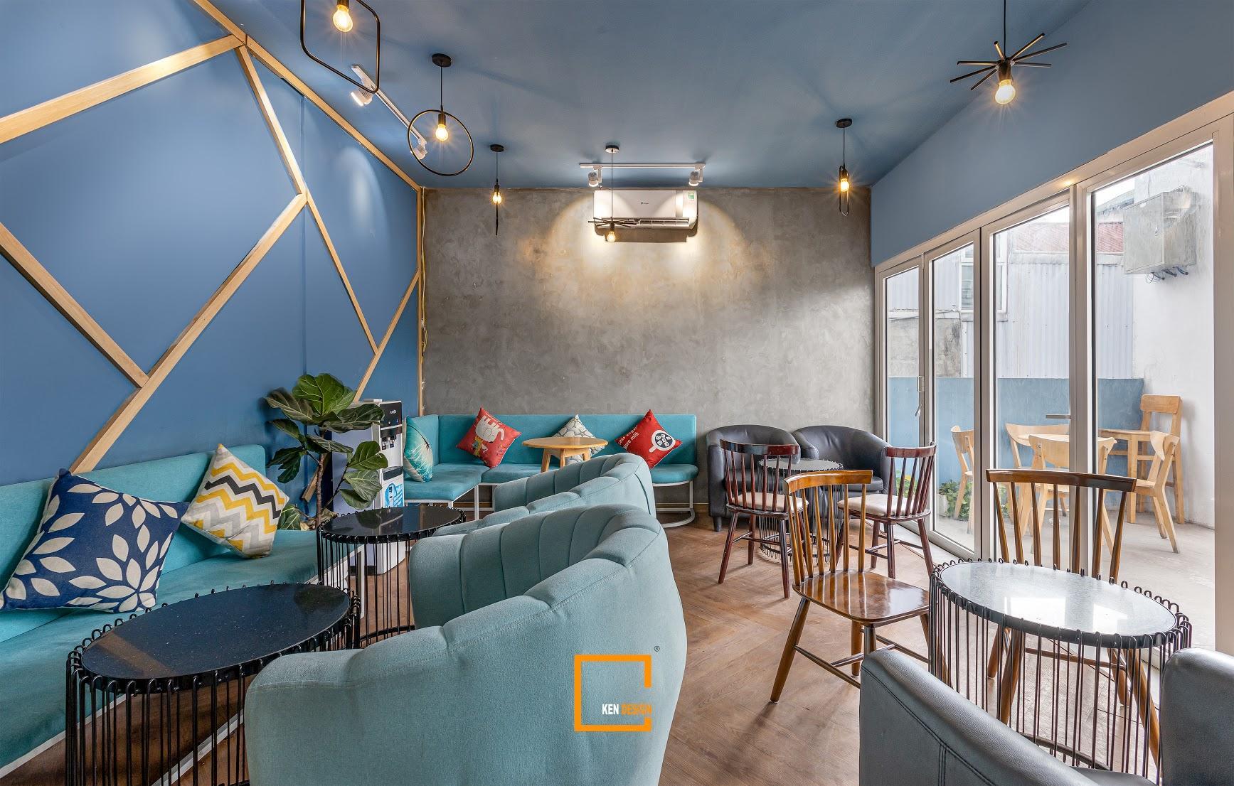Dự án thiết kế quán cafe EE Earth