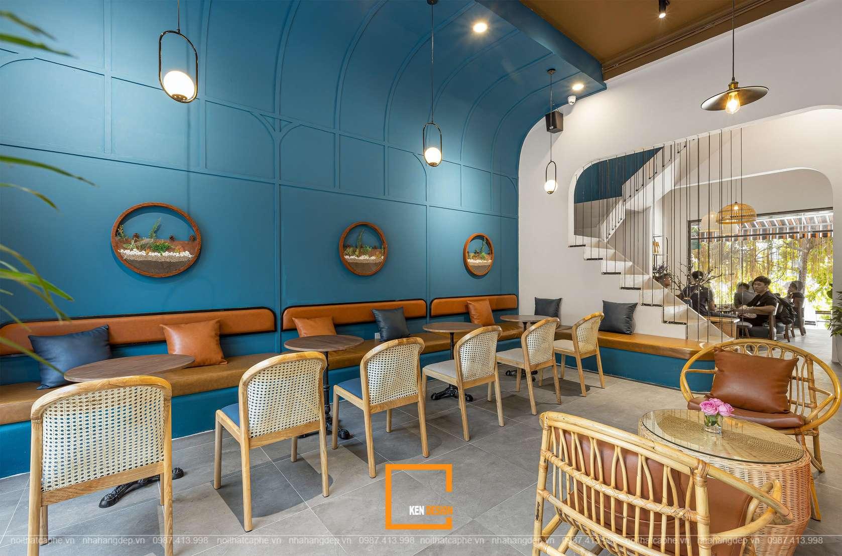 Thiết kế không gian quán cà phê The Nammin House