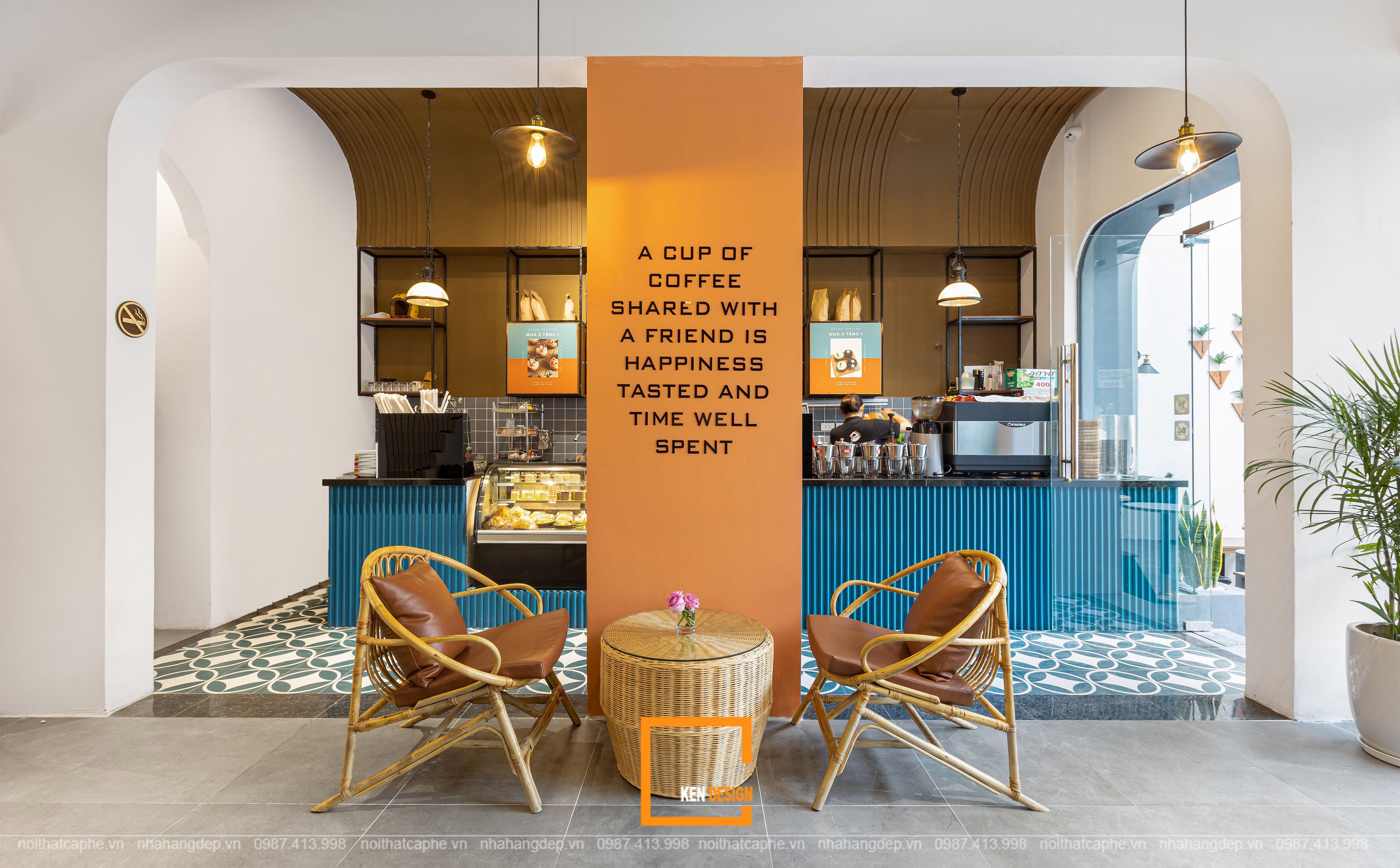 Thiết kế quán cafe tại Hà Nội