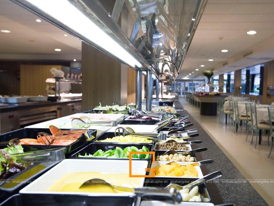 thiết bị nhà hàng buffet