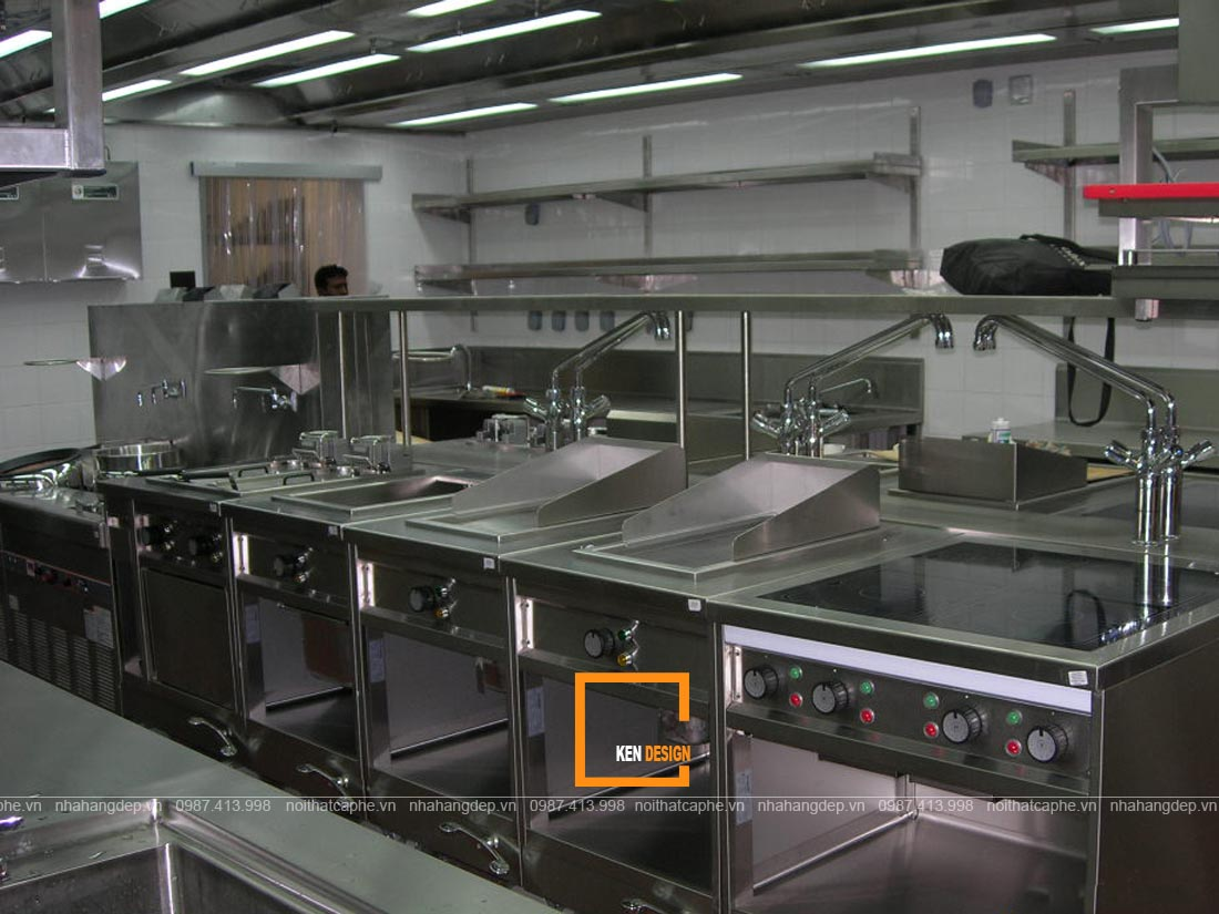 thiết bị nhà hàng chay