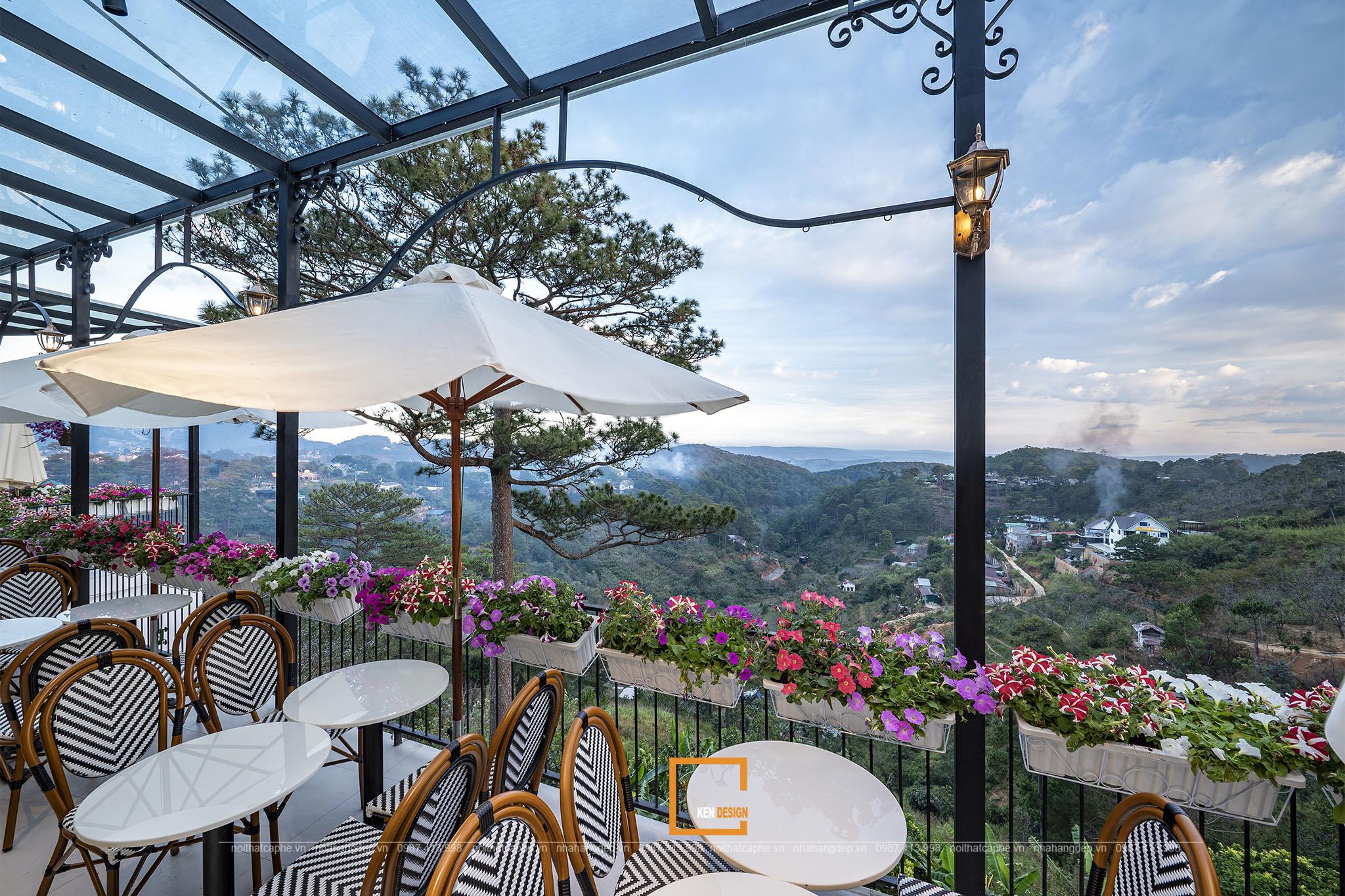 Thiết kế không gian thiên nhiên Morning in Town Cafe 03