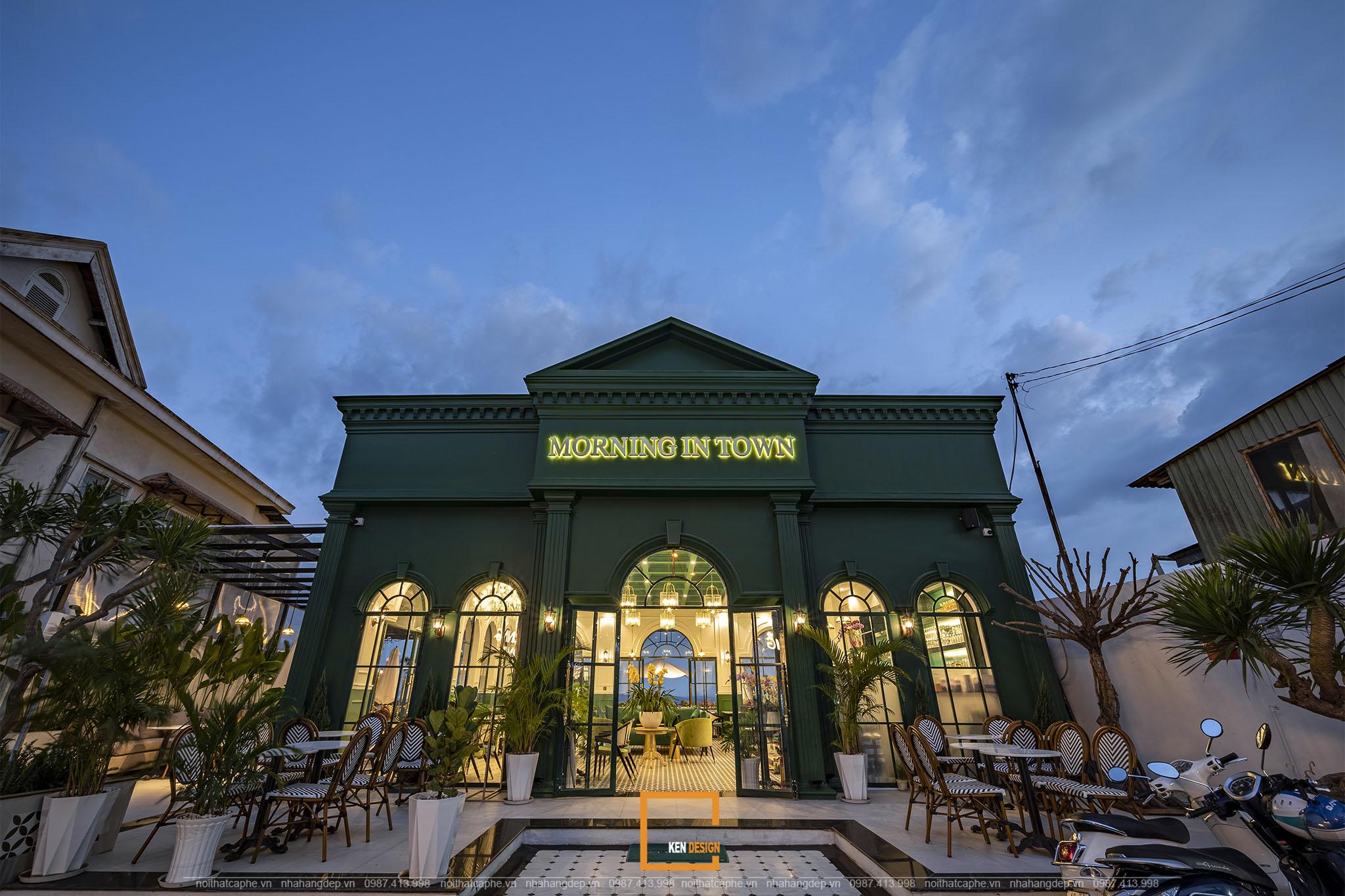 Thi công quán cafe Morning in Town