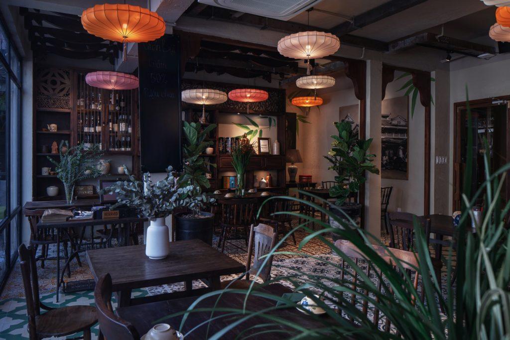 nhà hàng bistro đẹp quán bụi Vietnamese Bistro