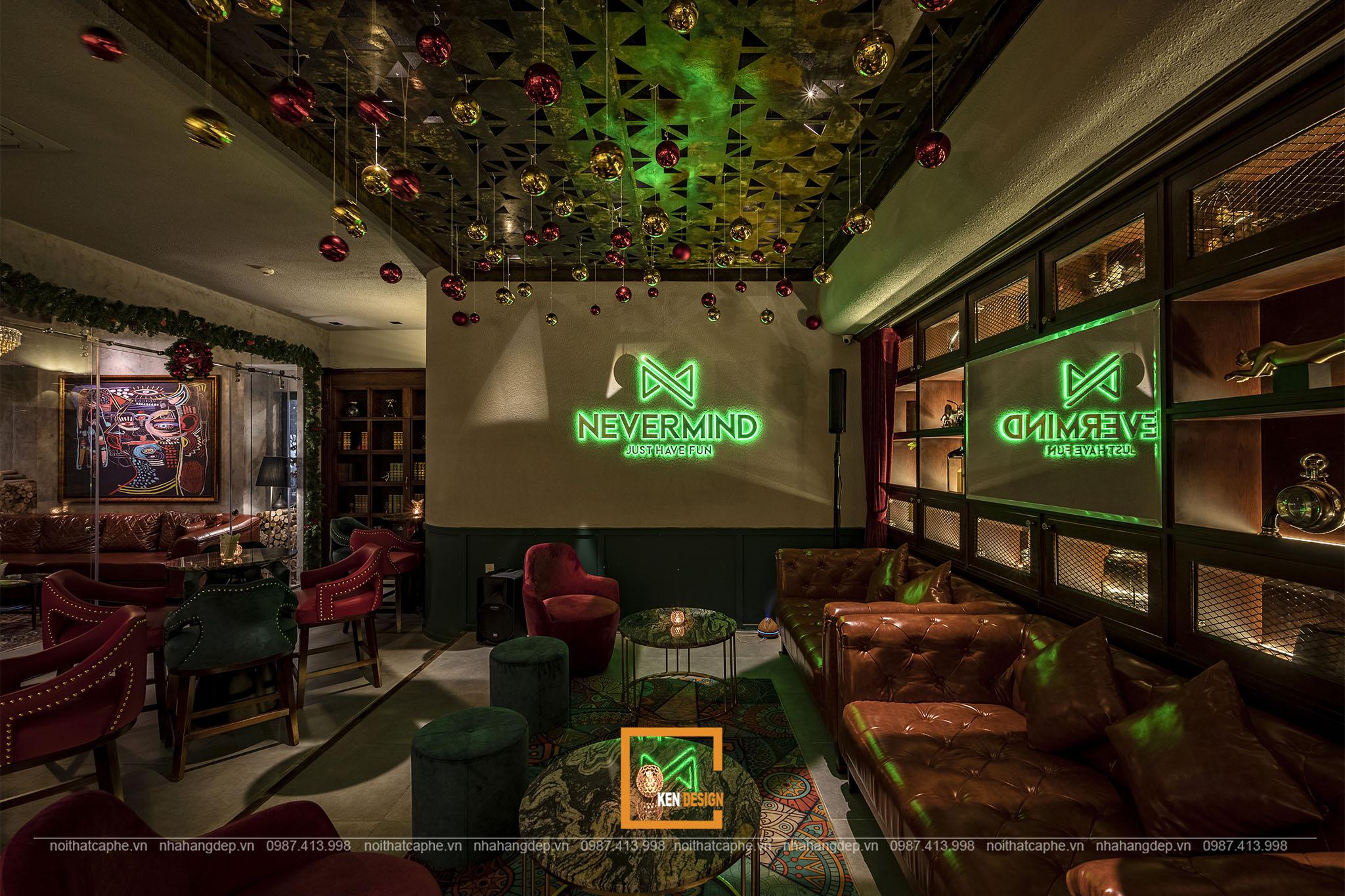 Mẫu thiết kế Nevermind Bar Lounge