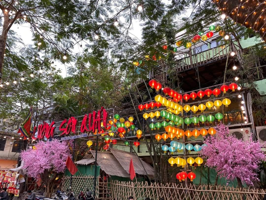 thiết kế nhà hàng Lương Sơn Quán