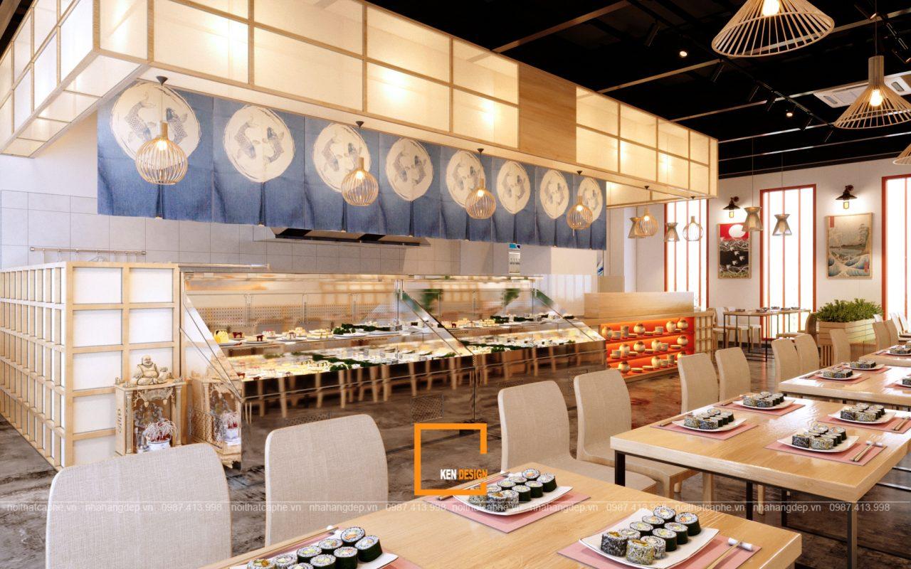 thiết-kế-nhà-hàng-Hinomaru