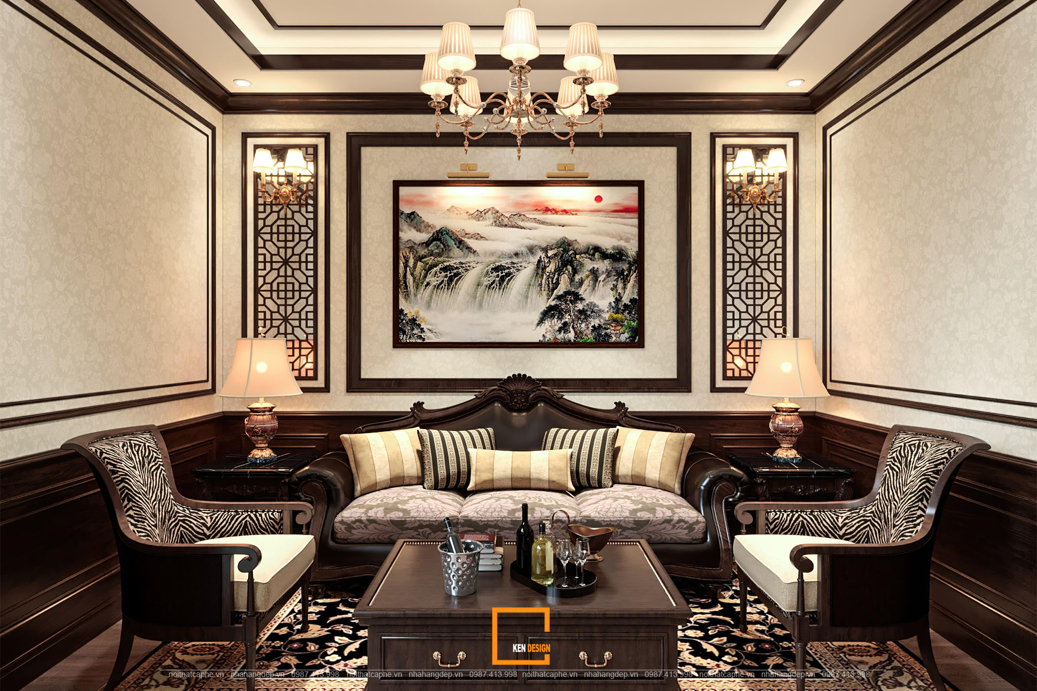 Thiết kế nội thất nhà hàng Sưa Trắng