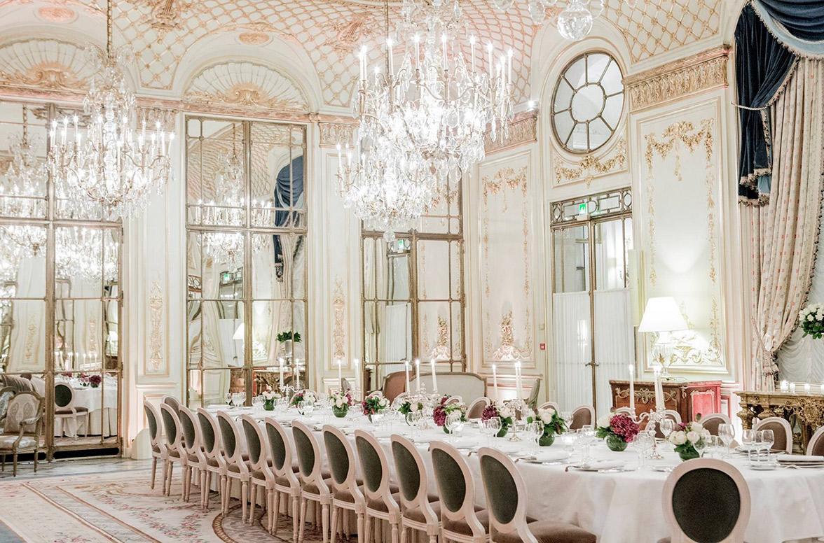 Thiết kế nhà hàng tiệc cưới phong cách tân cổ điển