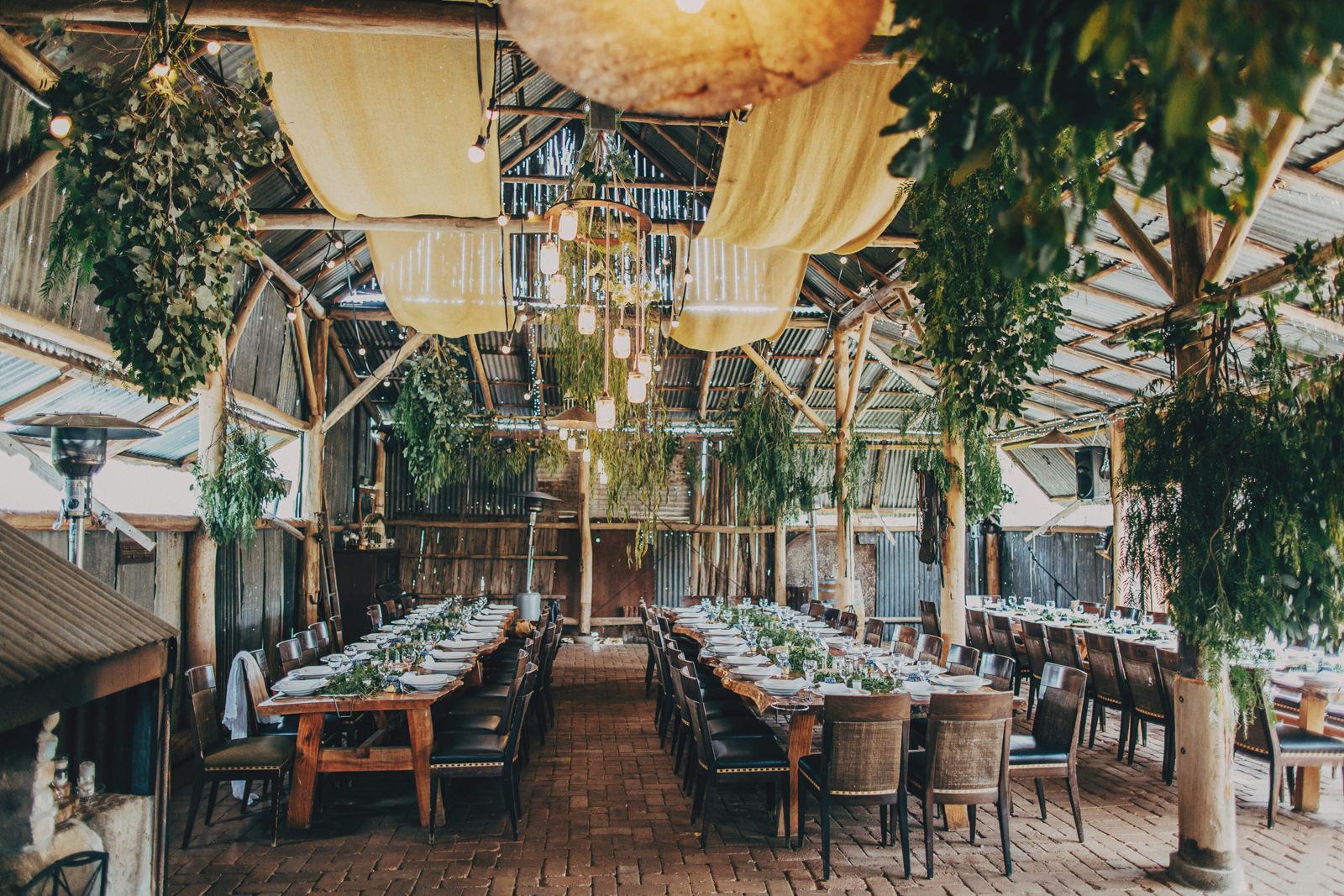 Thiết kế nhà hàng tiệc cưới phong cách Rustic