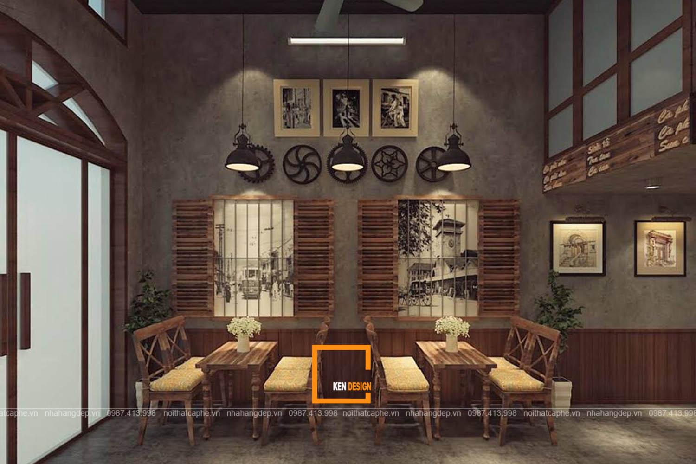 Thiết kế quán ALE COFFEE
