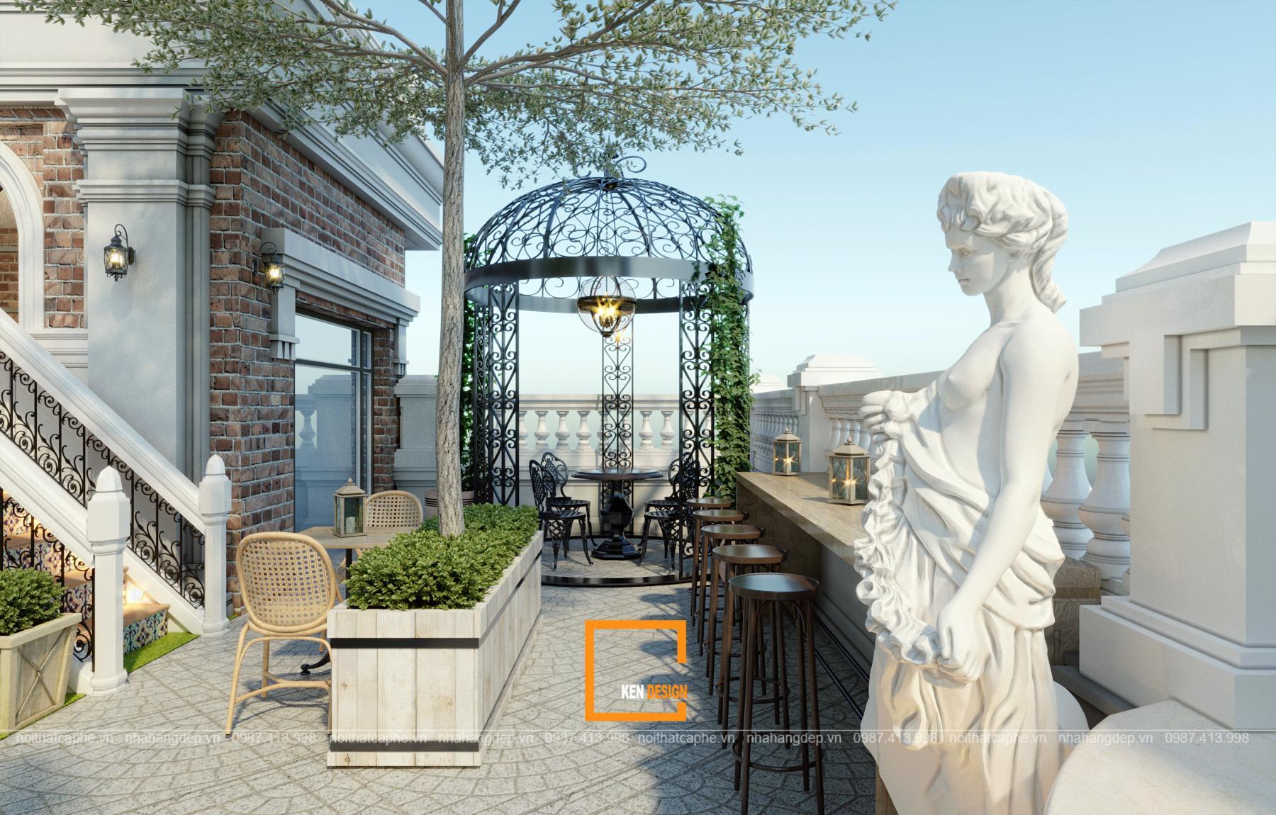 Quán cafe phong cách Châu Âu tại Thanh Hóa