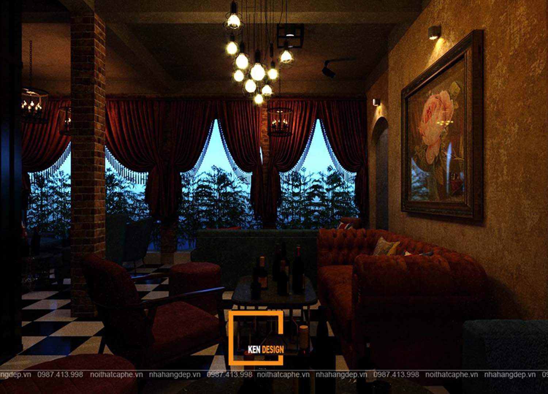 Thiết kế quán Lounge coffee