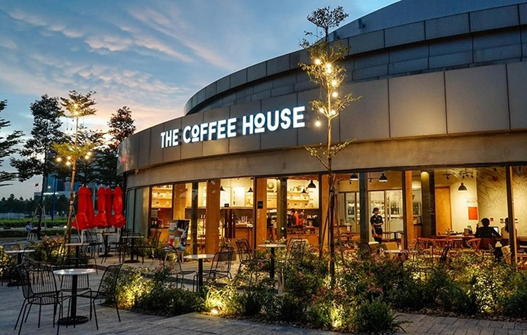 Thiết kế The coffee house