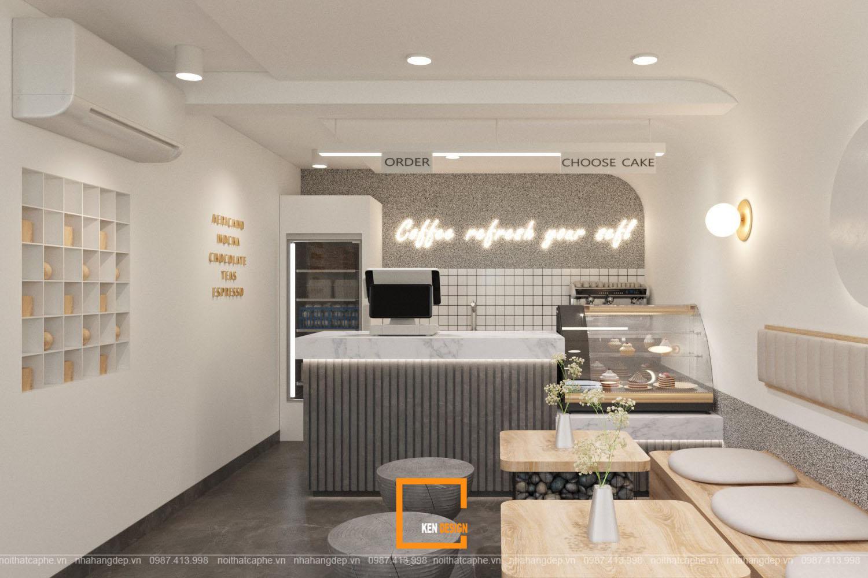 thiết kế quán cafe tomato.high